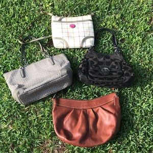 Coach Lot of 4 bags